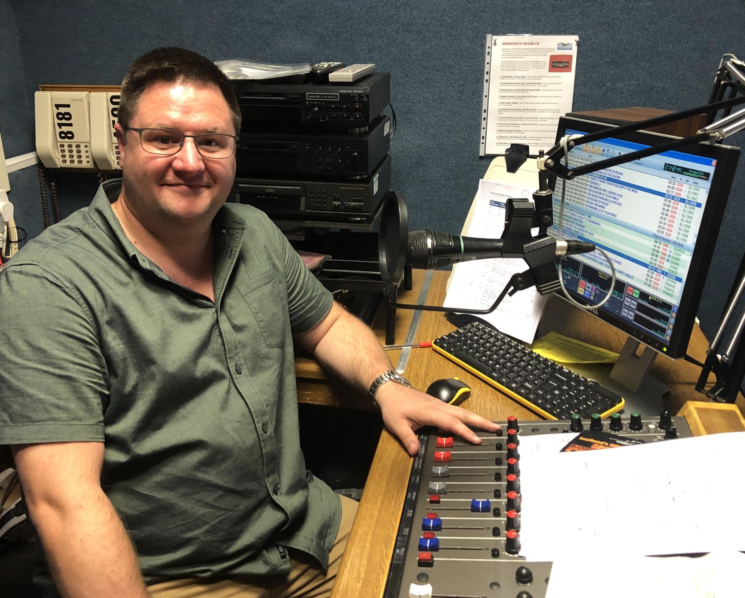 Programme Controller Joe Smith
