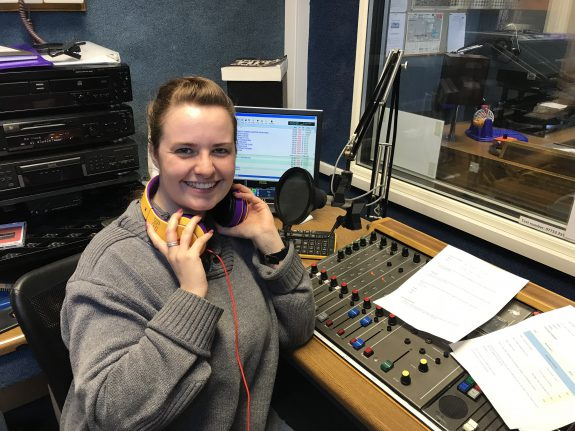 Southend Hospital Radio Presenter Alice Ryan