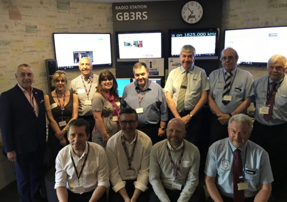 The launch of GB1NHS, linking amateur radio and the NHS