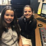 Kara and Kathryn, presenters of Southend Hospital Radio Kids