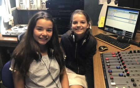 Kara and Kathryn, presenters of Southend Hospital Radio Kids