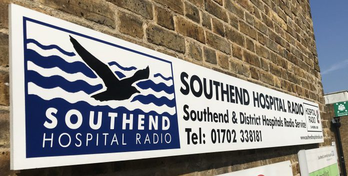 Southend Hospital Radio Sign