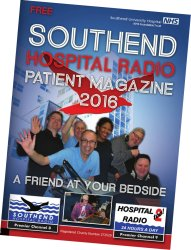 Southend Hospital Radio 2016 Patient Magazine