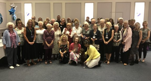 All of the award-winning volunteers at the 2017 Southend Hospital Volunteer Awards